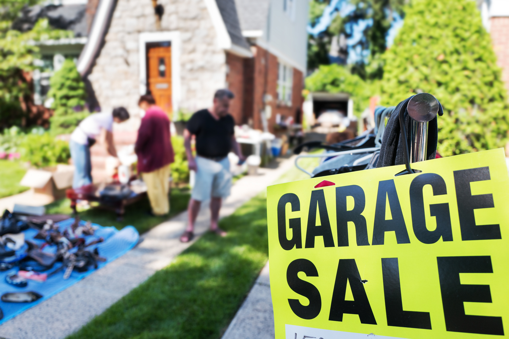 Garage-Sale-Sunny-Day