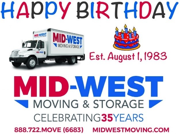 mid west moving and storage celebrates 35 years in business