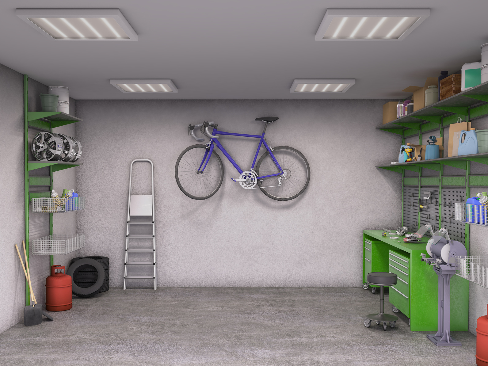 Clean-Garage-Interior