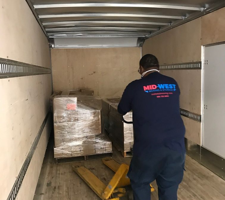 Mid-West Moving & Storage Moves PPE to Hospitals to Aid Pandemic Efforts