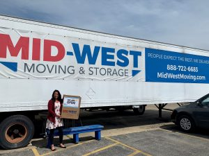 Mid-West Moving & Storage Truck Kari-Ann Ryan