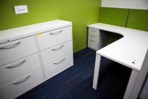 Furniture in cubicle